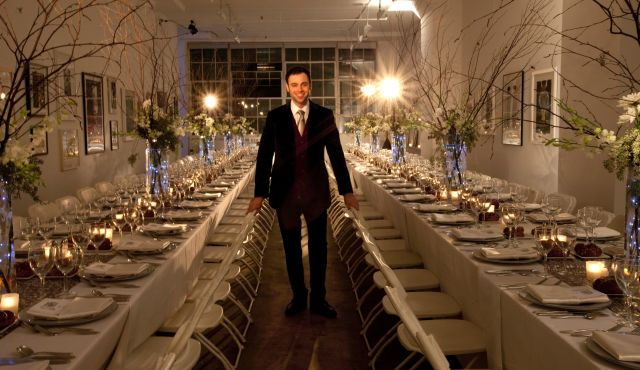 Robert Saferstein received a grant to expand his upscale Shabbat dinner experience for gay Jews in New York.