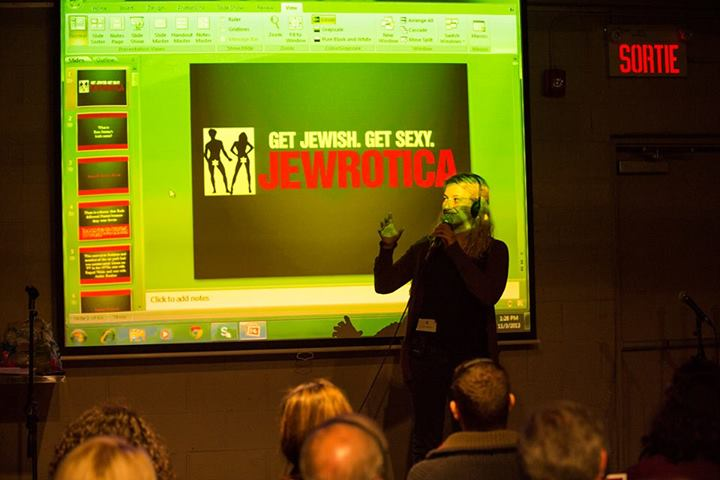 Presenting An Interactive Visuals-Based Jewrotica Session in Montreal