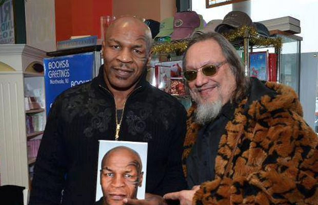 "Larry ""Ratso"" Sloman with Mike Tyson"